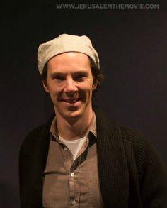Jerusalem The Movie - Benedict Cumberbatch behind the scenes