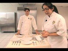 Protocolo y Etiqueta en la mesa parte 1 de 5 - YouTube