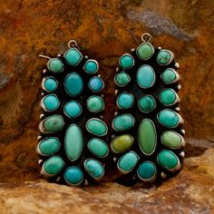 Traditional Turquoise Earrings