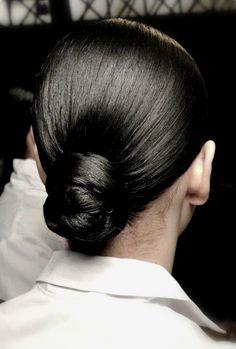 Turquoise Hair Ombre, Black Hair Ombre, Ombre Hair Color, Bun Hairstyles, Wedding Hairstyles, Natural Dark Hair, Thin Hair Updo, Hair Looks, Hair Trends