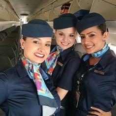 Azul Airlines Cabin Crew @rosangelamagalhaesxavier
