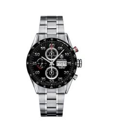 TAG Heuer Men's CV2A10.BA0796 Carrera Automatic Chronograph Watch: Tag Heuer: Watches  $2975.00
