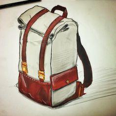 Quick backpack sketch