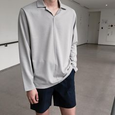 Gray long sleeves