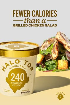 Fewer calories than a grilled chicken salad