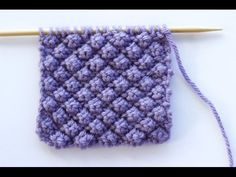 How to Knit the Raspberry Stitch or Trinity Stitch