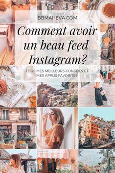 Mes meilleurs conseils pour avoir un beau feed Instagram ! - bbmaheva Flux Instagram, Tips Instagram, Instagram Feed Layout, Instagram Grid, Instagram Marketing Tips, Instagram Life, Photo Instagram, Instagram Story Ideas, Instagram Posts