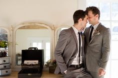 vintage typewriter, steel and lace, www.christinalogandesign.com, wedding, gay wedding