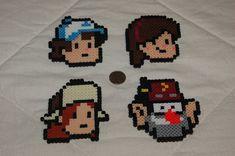 Gravity Falls Perler beads by evilpika on deviantART