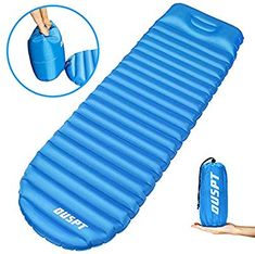 Eattop Inflatable Sleeping Mat 12cm Thick Ultralight Camping Mattress Compact Po