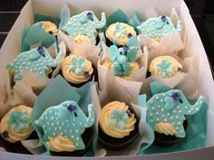 baby shower cupcakes - Google Search