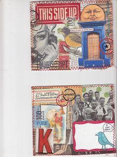 Mail art postcard | by MadameO