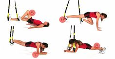 TRX workout exercises women fitness