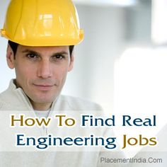 How To Find Real #EngineeringJobs
