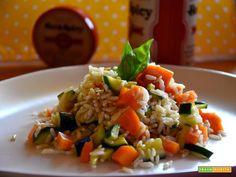 Insalata di riso integrale: è estate!  #ricette #food #recipes