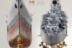 - My Ideas & Suggestions Scale Model Ships, Scale Models, Uss Indianapolis, Model Warships, Model Building, Water Crafts, Battleship, Wwii, Military