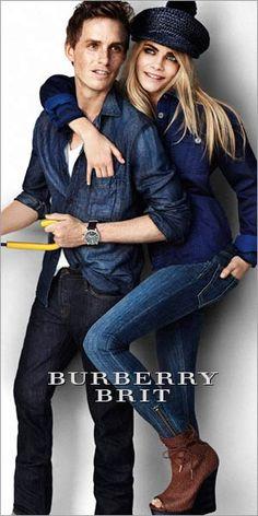 Burberry. Cara and Eddie? My favorite Brits.