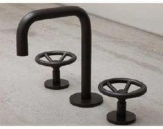 watermark bathroom | Watermark Brooklyn Widespread Lavatory Faucet - Steampunk