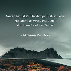 Never Let Life's Hardships Disturb You. No One Can Avoid Hardship. Not Even Saints or Sages. Avoiding Quotes, Tuesday Inspiration, Tuesday Quotes, Motivational Words, Quotes Motivation, Yoga Meditation, Saints, Mandala, Let It Be