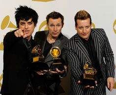 Green Day - 52nd Annual GRAMMY Awards held at Staples Center on January 31, 2010 in Los Angeles, California (press room)