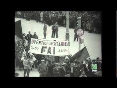 El entiero de Durruti, con imágenes originales, en Barcelona. Imprescindible