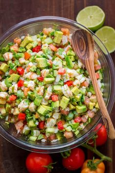 Avocado Shrimp Salsa Recipe on Yummly. @yummly #recipe