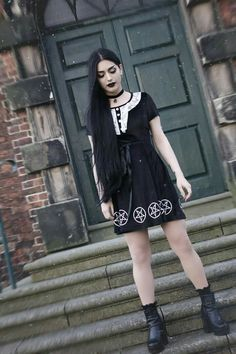 """<3 Signed and unsigned print available here: http://etsy.me/2ndPRDP """"Wednesday"""" Model/Makeup/Styling/Editor: Mahafsoun Photographer: Scarlet Sea Dress: Killstar"""