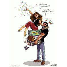 The Best Relationship Illustrations: Yehuda Devir Couple Comics Cute Couple Comics, Couples Comics, Cute Couple Art, Couple Cartoon, Funny Couples, Bd Comics, Funny Comics, Humour Couple, Yehuda Devir