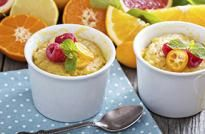 Budin de naranja y limón Flan, Mousse, Cheeseburger Chowder, Soup, Chocolate, Desserts, Pastries, Food, Cooking Recipes