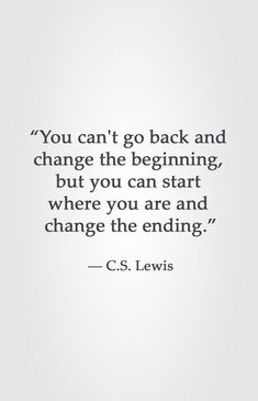 C.S. Lewis motivational quote
