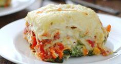 Veggie Alfredo Lasagna #dherbs