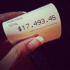 Future living nigga #receipt #money #luxury