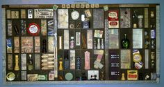 Vintage Upcycled Printer Tray by TakeMeBackTreasures on Etsy, $185.00