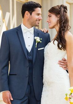Suits Unlimited also predicts that navy tuxedos and suits will be making a big come back in 2014. #forthegroom