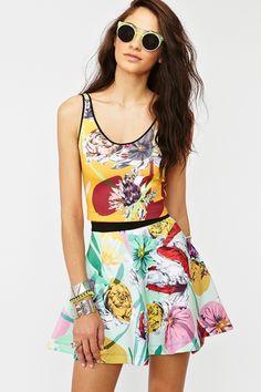 Neoprene Floral Skirt http://www.nastygal.com/whats%2Dnew/neoprene%2Dfloral%2Dskirt?utm_source=pinterest_medium=smm_campaign=pinterest_nastygal