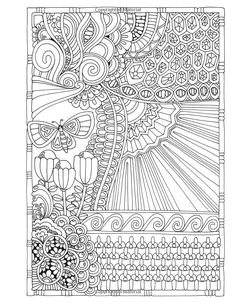 Amazon Angela Porters Zen Doodle Designs New York Times Bestselling Artists Adult Coloring Books 9781944686024 Porter