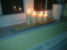 #Candle holder made from #recycled #wood: www.1-2-do.com