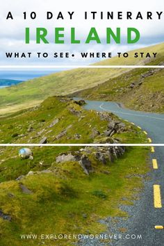 The Perfect 10 Day Ireland Itinerary: How to Road Trip the Emerald Isle - Explore Now Or Never Europe Travel Guide, Europe Destinations, Travel Guides, Travel Hacks, Ireland Vacation, Ireland Travel, Galway Ireland, Cork Ireland, Ireland Food