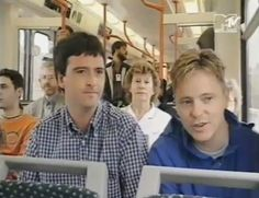 Johnny Marr and Bernard Sumner (Electronic)
