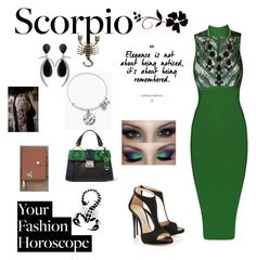 """Scorpio"" by acooper7179 on Polyvore featuring WithChic, Miu Miu, Natasha Accessories, Alex and Ani, Jorge Adeler, fashionhoroscope and stylehoroscope"