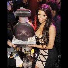 Kim Kardashian's perfume launch at Tao.  www.gimmesomesugarLV.com