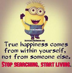 True happiness.