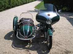 1957 BMW R50 with Sidecar for Sale Front