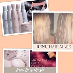 Renu Hair Mask is back💃💃💃 DM for prices 😘 Galvanic Spa, 4c Hair, Videos Online, Nasa, Nu Skin, Hair Care, Good Things, Youtube, Blog