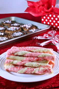 Peppermint Stick Cookies - Recipes Food and Cooking: