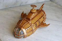 U-båt sub submarin gingerbread pepparkaka