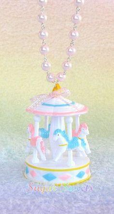 (1) A #kawaii carousel necklace | Quite Kawaii | Pinterest