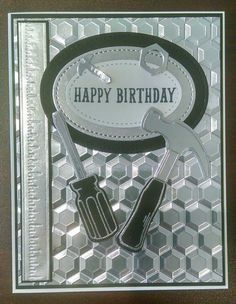 Great masculine card~