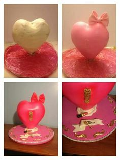 3D heart cake tutorial 2