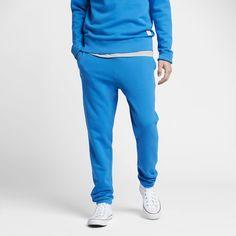 Converse Essentials Sportswear Jogger Men's Sweatpants Size Medium (Blue)